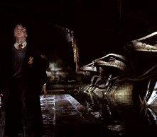 Daniel Radcliffe in una scena di Harry Potter e la camera dei segreti