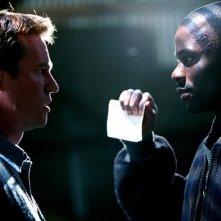 Derek Luke e Val Kilmer in una sequenza di Spartan