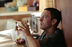 Eminem in una sequenza di 8 Mile