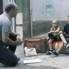 Luca Zingaretti in una sequenza del film Alla luce del sole