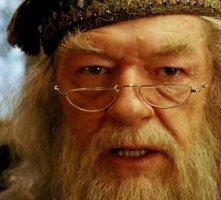 Michael Gambon in una scena di Harry Potter e il prigioniero di Azkaban