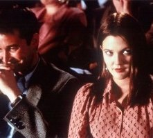 Noah Wyle e Drew Barrymore in una scena di Dinnie Darko