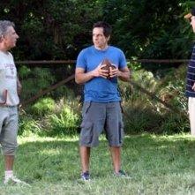 Ben Stiller, Dustin Hoffman e Robert De Niro in una scena di mi presenti i tuoi?
