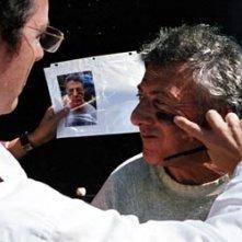 Dustin Hoffman sul set di Ti presento i miei