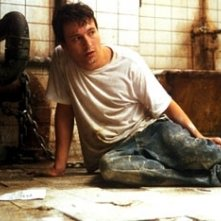 Leigh Whannell in una scena di Saw - L'enigmista