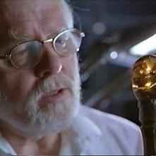 Richard Attenborough in una scena di Jurassic Park
