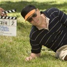 Rober De Niro sul set di Ti presento i miei