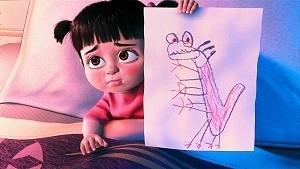 La piccola e adorabile protagonista di Monsters & Co