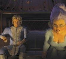 Una scena di Shrek 2