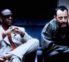 Ving Rhames e Jean Reno in una scena di Mission: Impossible