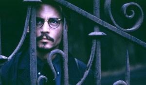 Johnny Depp in una scena di La nona porta