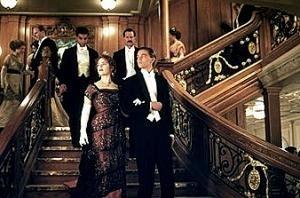 Kate Winslet E Leonardo Dicaprio In Una Scena Di Titanic 5694