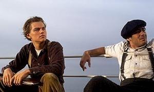 Leonardo Dicaprio E Danny Nucci In Una Scena Di Titanic 5693