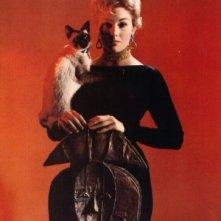 Una foto promozionale di Kim Novak per il film Una strega in paradiso
