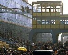 Una scena di Titanic (1997)