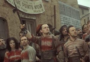 Leonardo DiCaprio in una immagine di Gangs of New York