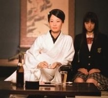 Lucy Liu e Chiaki Kuriyama in una scena di Kill Bill: Volume 1