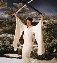 Lucy Liu in una scena di Kill Bill: Volume 1
