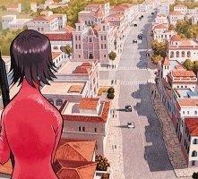 O Ren Ishii in un flashback 'anime' di Kill Bill vol. 1