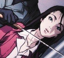 Una scena tratta dal flashback 'anime' di Kill Bill vol. 1