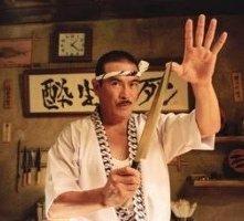 Sonny Chiba in una scena di Kill Bill: Volume 1