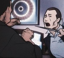 Una scena 'anime' di Kill Bill: Volume 1