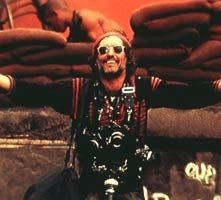 Dennis Hopper in una scena di Apocalypse Now