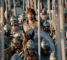 Eric Bana in una scena di Troy