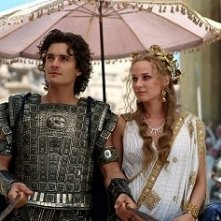 Orlando Bloom e Diane Kruger in una scena di Troy