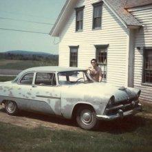 Stephen King con la sua 'prima macchina'