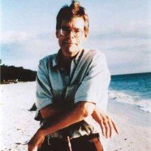 Stephen King in Florida in una foto del 2000