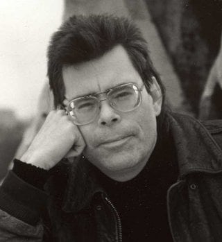 Stephen King in una foto del 1993