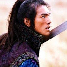 Takeshi Kaneshiro in una scena di La foresta dei pugnali volanti