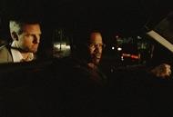 Tom Cruise e Jamie Foxx in una scena di Collateral