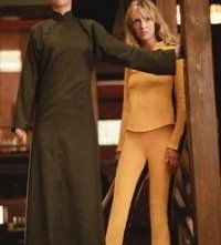 Uma Thurman e Julie Dreyfus in una scena di Kill Bill: Volume 1