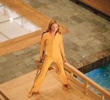 La vendicativa Uma Thurman in una scena di Kill Bill: Volume 1