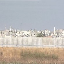 Una scena del documentario Il muro