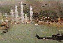 Una scena di Apocalypse Now