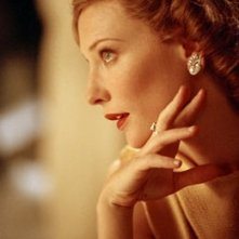 La splendida Cate Blanchett in una scena di The Aviator