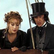 Cecile De France e Steve Coogan in una scena de Il fantasma dell'Opera