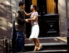 Jason Biggs e Christina Ricci in una scena di Anything Else