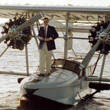 Leonardo DiCaprio in una scena del film The Aviator