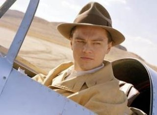 Leonardo DiCaprio in una scena di The Aviator
