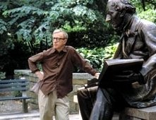 Woody Allen sul set di Anything Else
