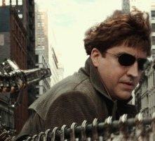 Molina in una scena di Spider-Man 2