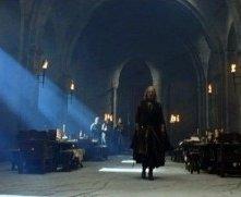 Bernard Hill in una scena di Il signore degli anelli - Le due torri