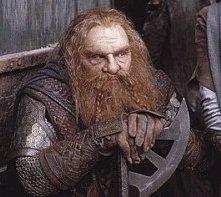John Rhys-Davies in una scena di Il signore degli anelli - Le due torri
