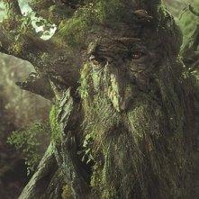 Una scena del film Il signore degli anelli - Le due torri, del 2002