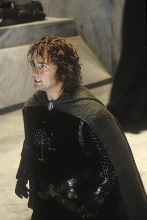 Billy Boyd in una scena di Il signore degli anelli - Il ritorno del re