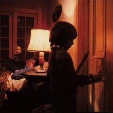 Danny Lloyd in una scena di Shining